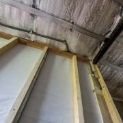 interior ceiling / roof insulation